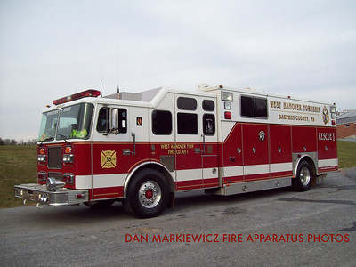 WEST HANOVER TOWNSHIP FIRE CO. X-RESCUE 36-1 1997 SEAGRAVE/SWAB HEAVY RESCUE
