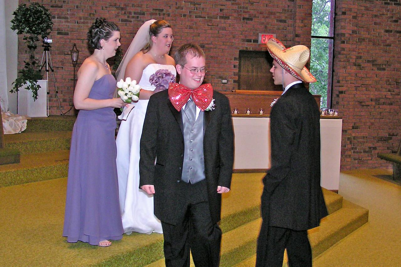 Tim and Sarah Jane's Wedding, May 2004