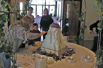 Tim and Sarah Jane's Wedding, May 15, 2004