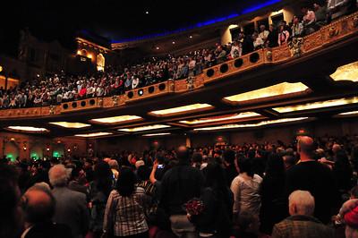 The Coronado Theatre was full for Rockford College Graduation