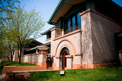 Dana Thomas House, Springfield IL  Design by: Frank Lloyd Wright