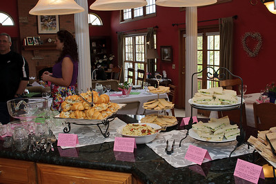 Corrine's Crystal Lake Bridal Tea - April 30, 2011