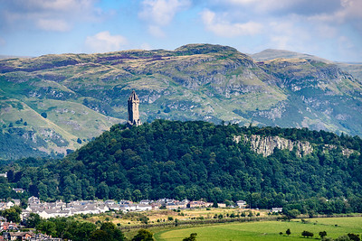 Monument to William Wallace.