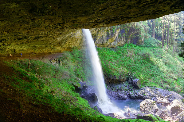 North Falls in Silver Falls State Park - Aug 2014