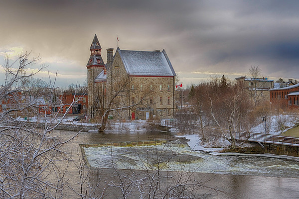 Winter Setting In Almonte