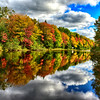 Gorgeous reflection in Mooney Pond PEI