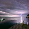 August 2017 -Lightning Storm on Butternut Bay, 1000 Islands
