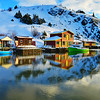 Quidi Vidi Village and great reflection