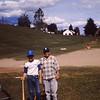 Dave Yaden, Jr. - 1961 - Age 13 - As a team member of the Odd Fellows Lodge baseball team - Franklin Junior High School field - Yakima, WA - From the Bernard Shaw 35 MM Slide Collection