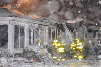 3rd Alarm House Fire - Highland Terrace, Town of Newburgh 12/2/19
