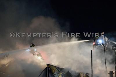3rd Alarm Warehouse Fire - Warthen St, Bronx, NY - 11/8/19