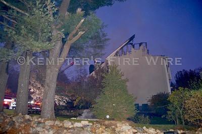Multiple Alarm Fire - Dans Hwy, New Caanan CT - 11/16/19