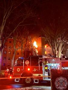 Multiple Alarm Fire - Fort Lee, NJ - 2/14/19