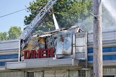 3 Alarm Fire - Landmark Diner, Briarcliff Manor, NY - 8/22/19