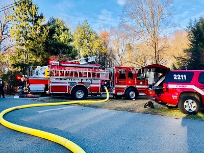 Structure Fire - Meadow Lane, Katonah, NY 11/28/19