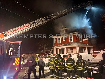 Structure Fire - Ringgold St, Peekskill, NY 12/3/19
