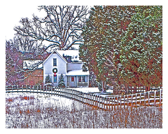 "Title: ""December In Virginia"" Place: Goochland, VA Click ""Buy"" For Prints  Watermark will not print on your order  All photos available matted and framed: 5x7 -     $39 8x10 -   $49 11x14 - $69 16x20 - $149 All Photos Available In 5x7 Frameable NoteCards Signed By Dave Lynch  $3.95ea    10/$30 Email Your Order:  ArtGalleryRiverRd@gmail.com"