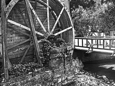 "Title: """"Grist Mill Circa 1900""  Place: - Warm Springs, Va Click ""Buy""  Above For Unmatted Prints    -  Watermark will not print on your order All photos available matted and framed: 5x7 -     $39 8x10 -   $49 11x14 - $69 16x20 - $149 All Photos Available In 5x7 NoteCards $3.95ea    10/$30 Email Your Order For Framed Prints And NoteCards:  ArtGalleryRiverRd@gmail.com"