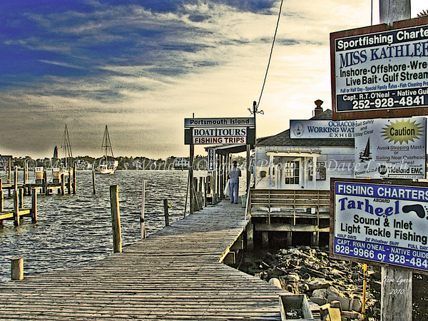 "Title: ""Fishing Charters - All Aboard""   Place: OBX - Ocracoke Island, NC Click ""Buy"" To order Prints online  Watermark will not print on your order  All photos available matted and framed: 5x7 -     $39 8x10 -   $49 11x14 - $69 16x20 - $149  All Photos Available In 5x7 NoteCards $3.95ea     5/$2.95ea  Email Your Framed / NoteCard Order:  ArtGalleryRiverRd@gmail.com"
