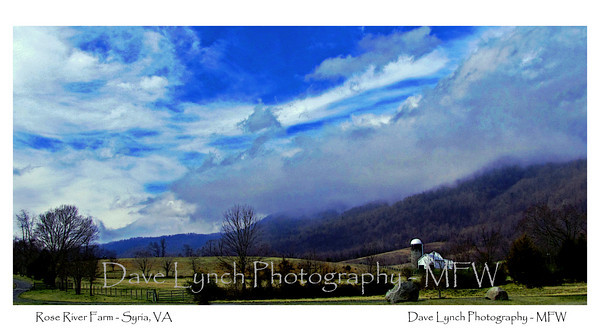 "Title: ""Rose River Farm"" Place: Syria, VA Click ""Buy"" For Prints Watermark will not print on your order All photos available matted and framed: 5x7 -     $39 8x10 -   $49 11x14 - $69 16x20 - $149 All Photos Available In 5x7 NoteCards $4.95ea     5/$20 Email Your Framed Or Card Order:  ArtGalleryRiverRd@gmail.com"