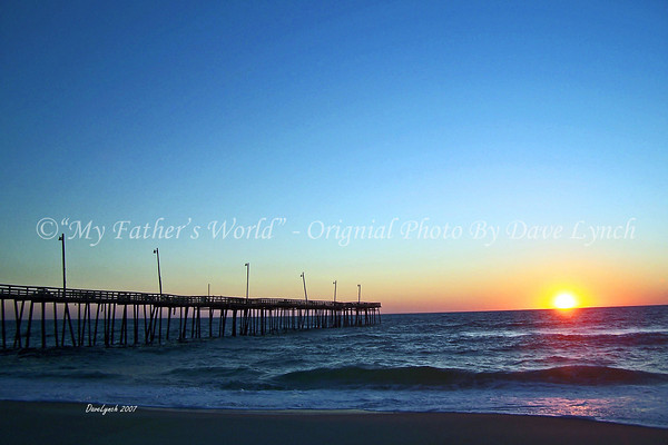"Title: ""Blue Sunrise At Rodanthe Pier""<br /> Place: Hatteras Island, NC<br /> Click ""Buy"" To order Prints online<br /> <br /> Watermark will not print on your order<br /> <br /> All photos available matted and framed:<br /> 5x7 -     $39<br /> 8x10 -   $49<br /> 11x14 - $69<br /> 16x20 - $149<br /> <br /> All Photos Available In 5x7 NoteCards $4.95ea    <br /> 5/$20<br /> <br /> Email Your Framed / NoteCard Order:  ArtGalleryRiverRd@gmail.com"
