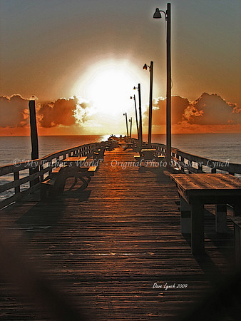 """Title: """"Rodanthe Pier"""" Place: Hatteras Island, NC Click """"Buy"""" To order Prints online  Watermark will not print on your order  All photos available matted and framed: 5x7 -     $39 8x10 -   $49 11x14 - $69 16x20 - $149  All Photos Available In 5x7 NoteCards $4.95ea     5/$20  Email Your Framed / NoteCard Order:  ArtGalleryRiverRd@gmail.com"""