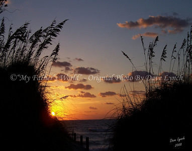"Title: ""Sunrise Over The Dunes"" Place: Hatteras Island, NC For Prints: Click ""Buy""   Watermark will not print on your order  All photos available matted and framed: 5x7 -     $39 8x10 -   $49 11x14 - $69 16x20 - $149  All Photos Available In 5x7 NoteCards $4.95ea     5/$20  Email Your Order:  ArtGalleryRiverRd@gmail.com"