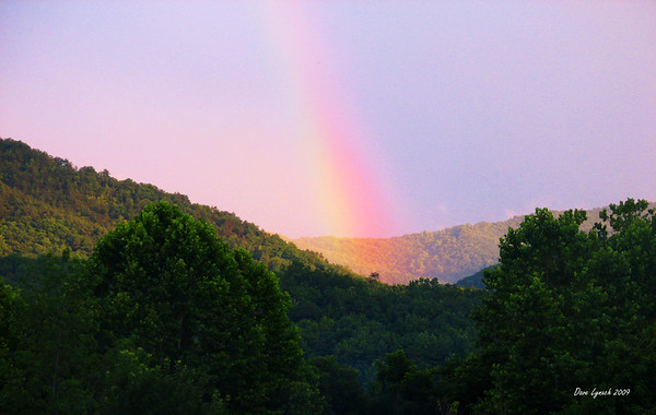 """July Rainbow - Glen Maury Park"" Watermark will not print on your order"