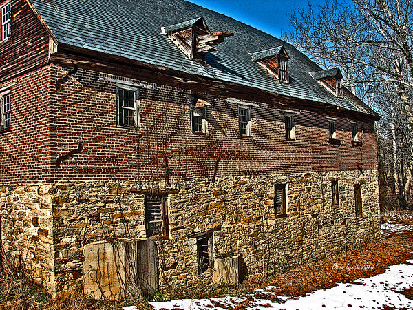 "Title: ""Muddy Creek Mill"" Place: Tamworth - Cartersville - Cumberland County VA  Click ""Buy"" For Prints Watermark will not print on your order All photos available matted and framed: 5x7 -     $39 8x10 -   $49 11x14 - $69 16x20 - $149 All Photos Available In 5x7 NoteCards $3.95ea     10/$30 Email Your Framed Or Card Order:  ArtGalleryRiverRd@gmail.com"