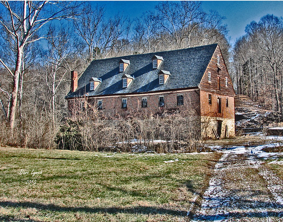 "Title: ""Muddy Creek Mill""  Circa 1753 Place: Tamworth - Cartersville - Cumberland County VA  Click ""Buy"" For Prints Watermark will not print on your order All photos available matted and framed: 5x7 -     $39 8x10 -   $49 11x14 - $69 16x20 - $149 All Photos Available In 5x7 NoteCards $3.95ea     10/$30 Email Your Framed Or Card Order:  ArtGalleryRiverRd@gmail.com"