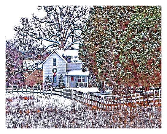littleHouse snow