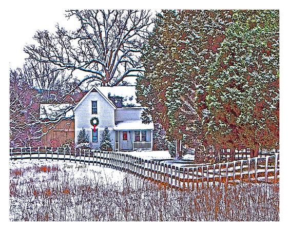 littleHouse snow