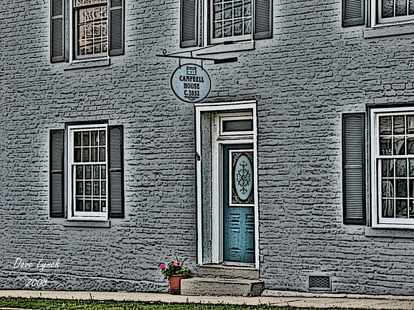"""Title: """"Campbell House Circa 1852"""" Watermark will not print on your order"""