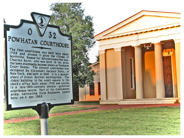 """Powhatan Courthouse"" circa 1849"