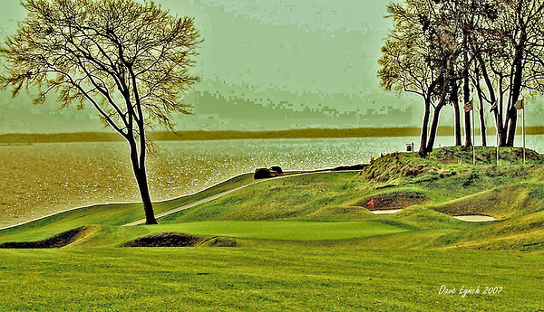 Kingsmill River Course 16th On The James River  Watermark will not print on your order