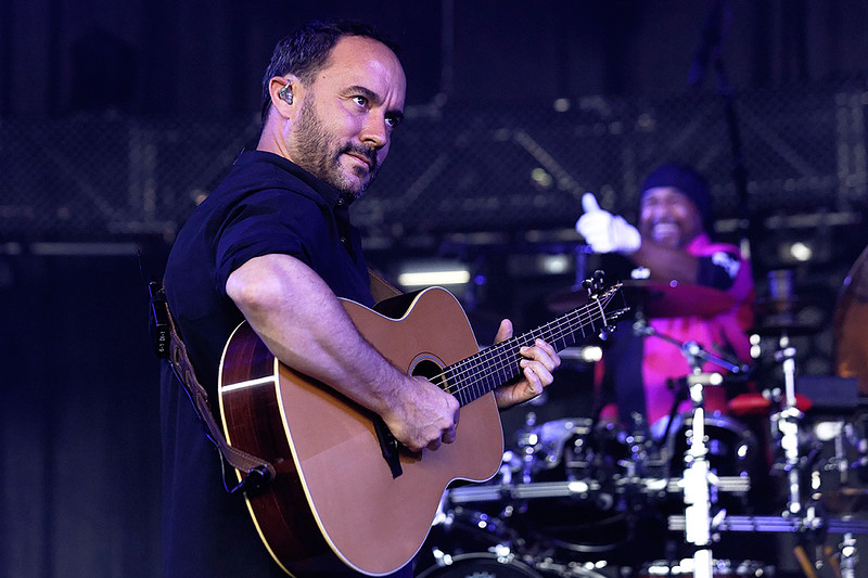 . Dave Matthews Band  live at DTE Music Theatre on 7-20-2016. Photo credit: Ken Settle