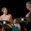 "Kristen Bush performs as Cara Russo with Kevin O'Rourke, as Kevin o'Neill, during a rehearsal for a pre-season staged reading of ""Dan Cody's Yacht"" June 9, 2017 at Bratton Theater. Dave Munch 