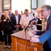 Chautauqua Foundation CEO Geof Follansbee speaks during a celebration of the conclusion of the Promise Campaign June 23, 2017 at the Athenaeum Hotel. DAVE MUNCH/PHOTO EDITOR