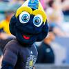 LA Galaxy's mascot - Cozmo