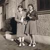 Harriet (Shaw) Schmidt [age 25] & Betty Jean Shaw [age 15] - 1943 - Seattle, WA
