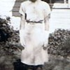 """Betty Jean Shaw - 1945 - Age 17 - Yakima, WA<br /> <br /> Note from Betty Jean:  """"Ah, in the days when I weighed 123 lbs and had a 23 inch waist. Is that a hat on my head--I must have been going to church--that was also proper in those days."""""""