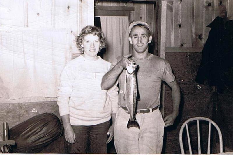 Betty Jean Shaw (age 19) & Dave Yaden (age 26) - 1947 - Washington State