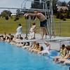 "Franklin Junior High 1964:  Mr. Yaden teaches ""Drown Proofing"""