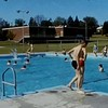 Franklin Junior High 1965:  P.E. Class - Swimming
