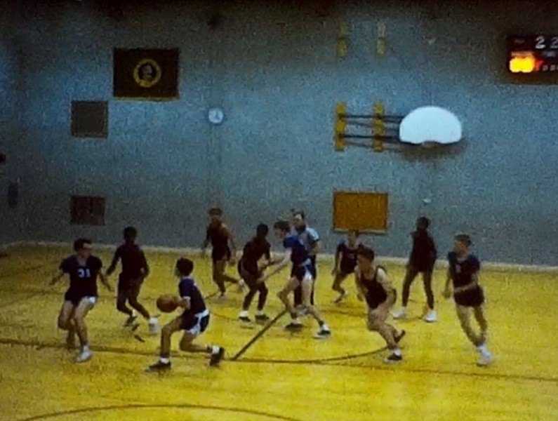 Franklin Basketball Jamboree 1964/65 Season (8mm reel 1)