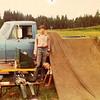 Robert (standing) & Darby Shaw - circa 1974 - Montana