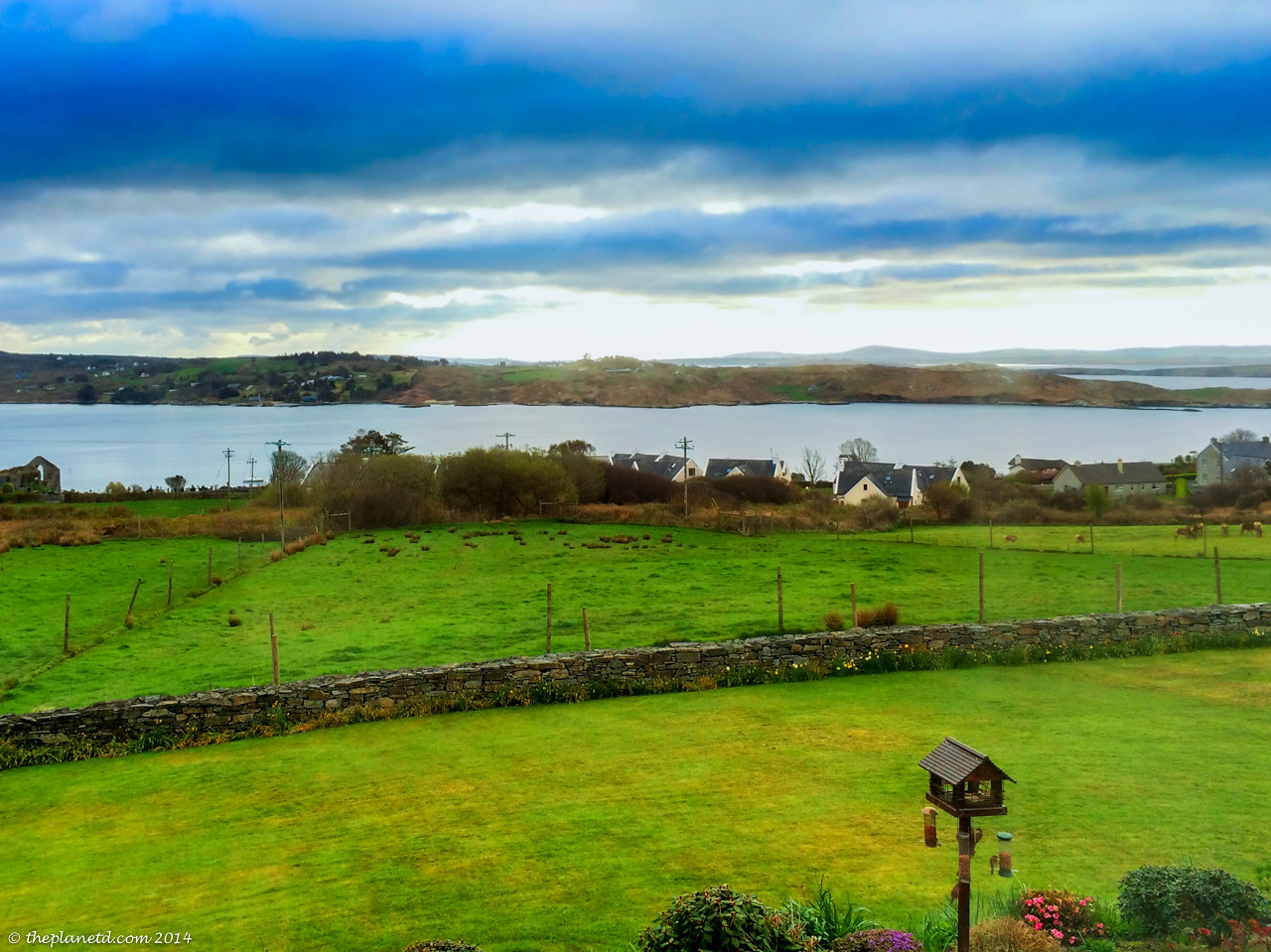 The view from ...Guestouse in County Cork on the Wild Atlantic Way