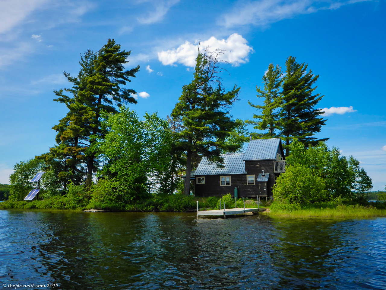 Kicking back on your own island retreat in Ontario