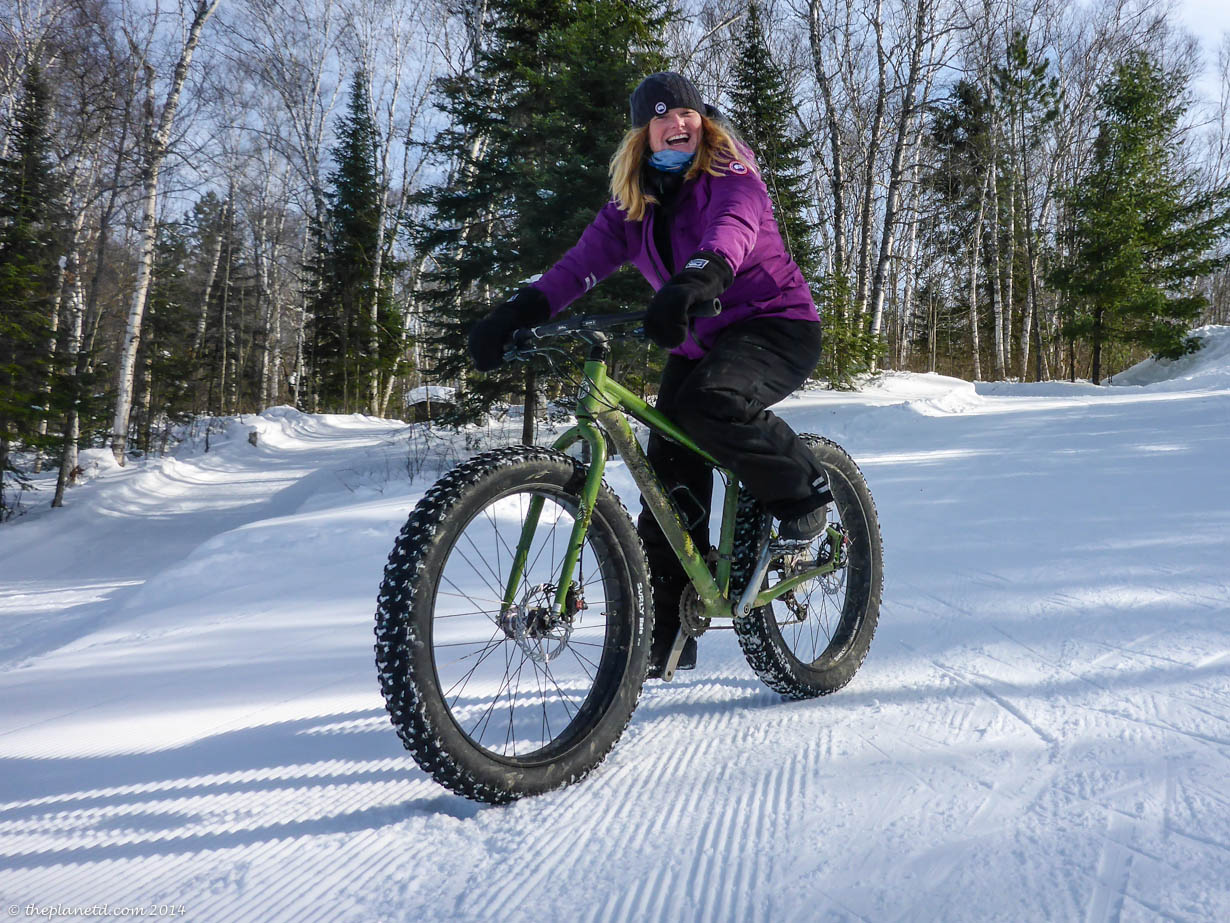 Fat Biking Arrowhead Provincial Park