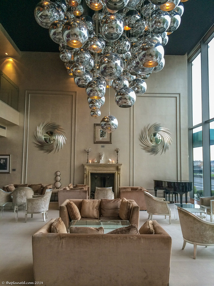 Modern Chic is the way we would describe the G-Hotel in Galway, Ireland